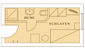 Einzelzimmer-Hotel-Edelweiss